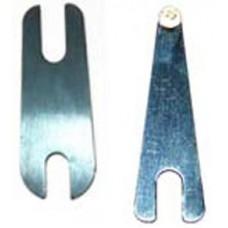 Контактные пружины с серебряной напайкой