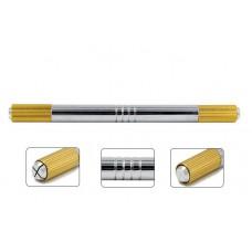 Ручка для мануального татуажа двусторонняя