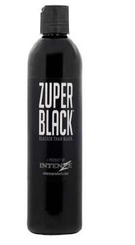 Пигмент Intenze Zuper Black Ink 360мл